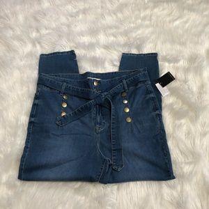 ELOQUII High waisted skinny jeans NWT